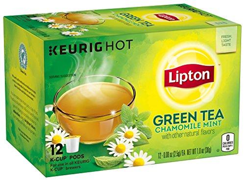 Lipton K-Cup Green Tea K-Cups Soothe Green...