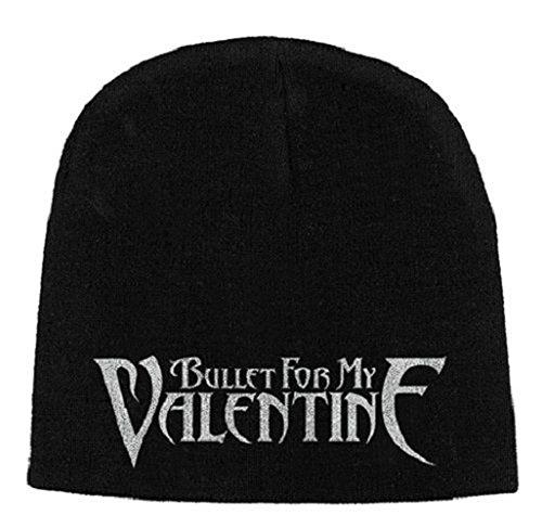 Bullet For My Valentine Bonnet Cap Band Logo Officiel Nouveau Noir Jersey Print Size One Size