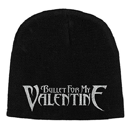 Bullet For My Valentine Bonnet Cap Band Logo Officiel Nouveau Noir Jersey Print Size One Size