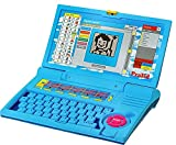 Prasid Kids English Learner Computer Toy Educational Laptop, Blue