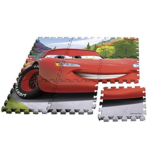 Rocco Juguetes–Cars–Alfombra Puzzle, wd17625