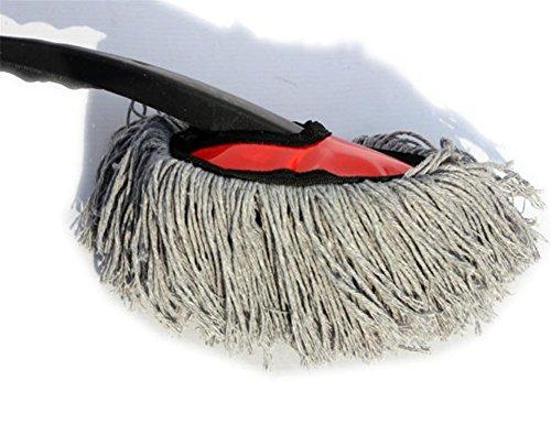 Petit coton cire drag voiture fournitures de nettoyage mini cire brosse poussière cire glisser voiture cire glisser coton Taille: 27,5 * 7,5