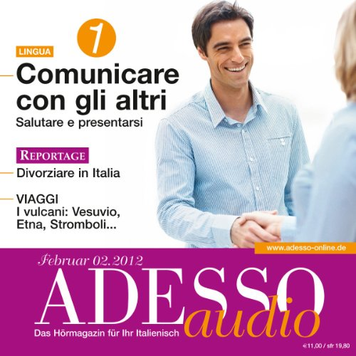 ADESSO Audio - Conversazione. 2/2012 Titelbild
