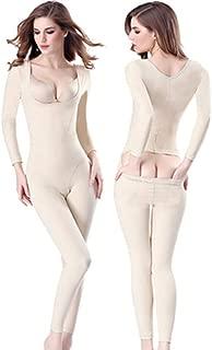 One-Piece Full Body Shaper Seamless Bra Lift Shapewear Long Sleeve Bodysuits