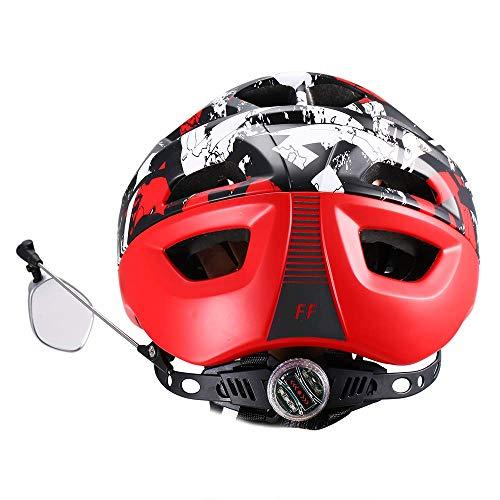 Lixada1 Bike Helmet Mirror 360° Rotary Cycling Bicycle Rear View Mirror