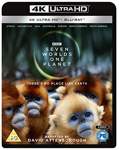 Seven Worlds One Planet [Edizione: Regno Unito] [Italia] [Blu-ray]