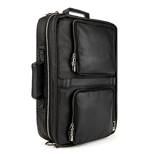 Black 15-inch MacBook Pro Messenger Bag, Backpack, Shoulder Bag, Brief case