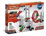 Clementoni 59150 Galileo Science – Action & Reaction Starter Kit Modellino di una pista di palline, giocattolo per bambini dai 6 anni in su.