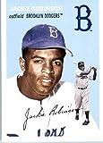 Jackie Robinson baseball card (Brooklyn Dodgers) 2012 Topps Archives #39