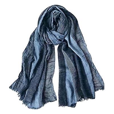 linen scarf men