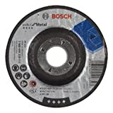 Bosch 2 608 600 218 - Disco de desbaste acodado Expert for Metal - A 30 T BF, 115 mm, 6,0 ...
