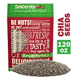✅BUILD STRONGER BONES & MUSCLES - As a rich natural source of calcium, protein (20%) and Omega-3 ALA (20%), chia seeds deliver the fuel you need to build & tone lean muscle while burning fat. Able to absorb 10x their weight in water, chia seeds prolo...
