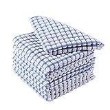 Best Dish Cloths - Bukache Kitchen Towels, Bulk Cotton Terry Dish Towels Review