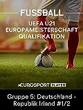 Fußball: Qualifikation zur U21-Europameisterschaft 2019 in Italien - Gruppe 5: Deutschland - Republik Irland