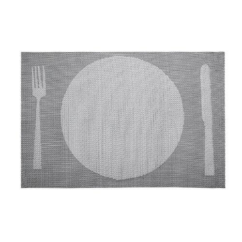 Lacor Set de table Gris 45 x 30 cm