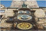 1000 piezas-Praga República Checa 2 de mayo de 2016 Vista del paisaje urbano abstracto de rompecabezas de madera DIY Niños Rompecabezas educativos Regalo de descompresión para adultos Juegos creativo