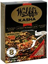 Wolff's Kasha Whole Pure Roasted Buckwheat, 13 Ounce (Pack of 6)