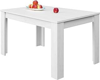 COMIFORT – Mesa De Comedor Extensible Moderna de 120 a 170 cm Medidas 120/170x75x78 cm Disponible en Colores: Blanca Bl...