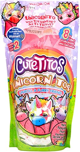 Cutetitos 39243 Unicornitos, Serie 2, Plüsch, 17,8 cm