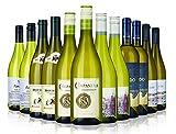 Chardonnay White Wine Mix - 12 Bottles (