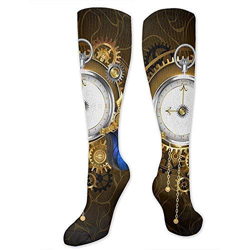 Tonesum Mariposa Reloj de bolsillo Calcetines estampados Calcetines sobre botas Calcetines deportivos...