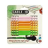 【正規輸入品】 Cleverline ケーブルオーガナイザー Cable-ID グリーンパッケージ 792002