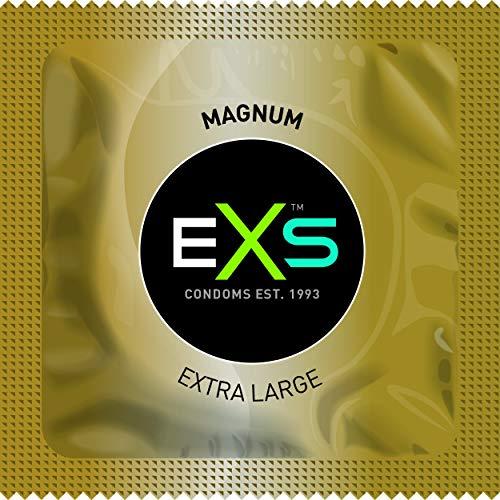 EXS Kondome Magnum 100 XXL-Kondome, Bulkpack, 60mm Breite, Top-Qualität, Kondome für den groß ausgestatteten Mann
