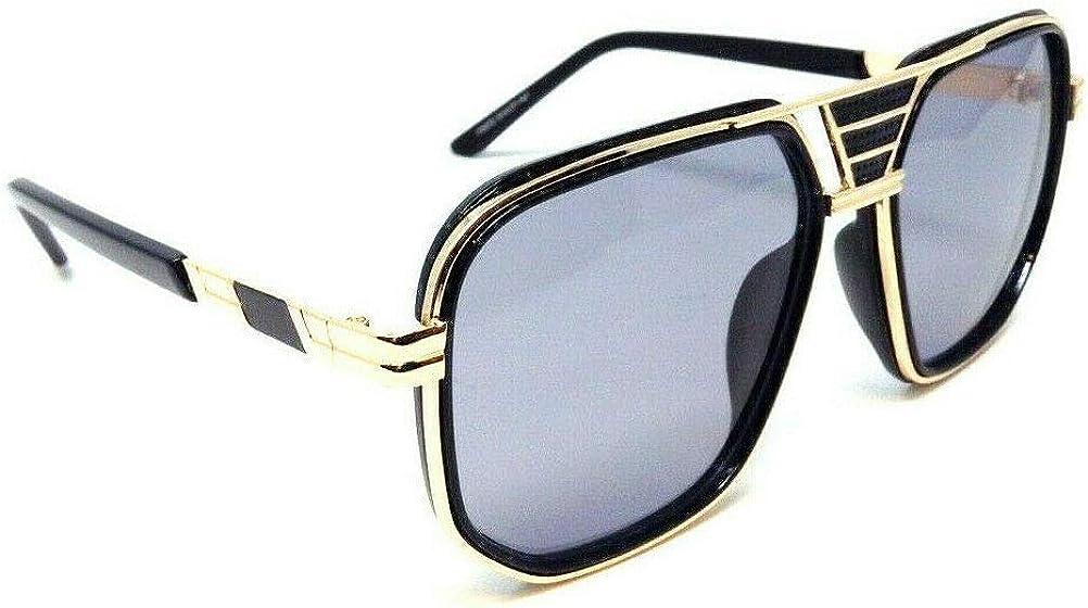 Gazelle Savage Square Luxury Hip Hop Aviator Sunglasses
