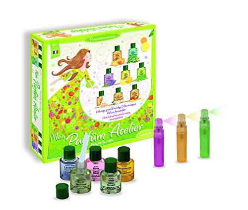Sentosphere 01420 Atelier, Frische Blumen, Kosmetikset für Kinder, 8 Düfte um eigene Parfüms herzustellen, Kreativset, DIY