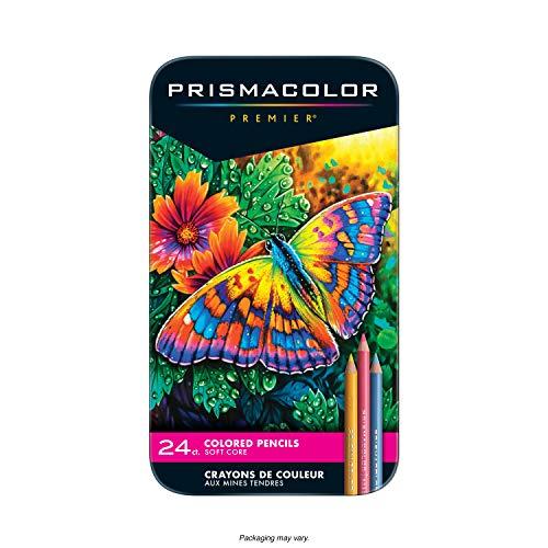 Prisma Premier Colored Pencils Tin - Set of 24 Colors