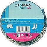 Format 4011645008937 - Drahtseil-universalleine pvc-umm. 4mmx30m