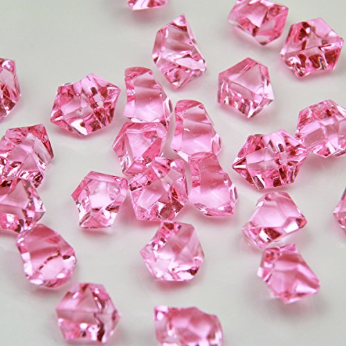 pink acrylic gems - 4
