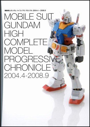 機動戦士ガンダム HCM Proクロニクル 2004.4-2008.9 HCM Proガンダムシリーズカタログ