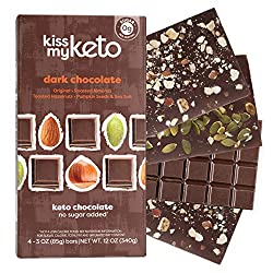 Kiss my keto candy bar image from Amazon