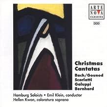 Christmas Cantatas: Bach/Gounod; Scarlatti; Galuppi, Bernard by Hellen Kwon
