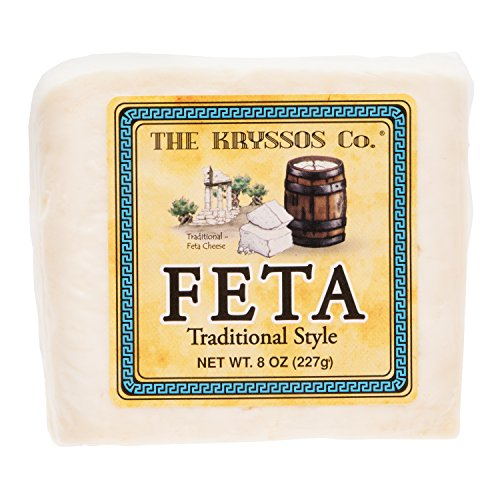 Kryssos Traditional Feta Cheese, 8 oz