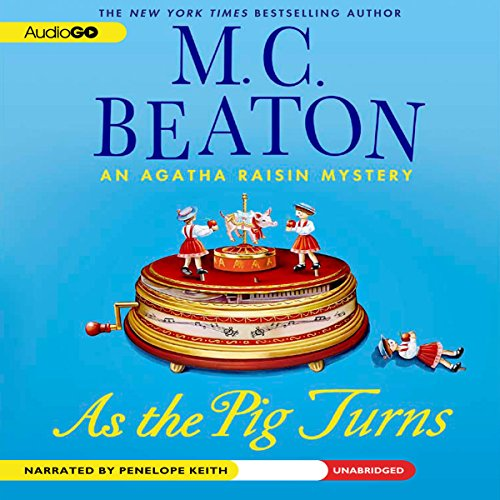As the Pig Turns audiobook cover art
