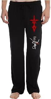 XIJXIN Men's dual saber command seal Fate Zero logo Running Workout Sweatpants Pants