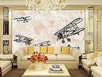 写真の壁紙HD航空機の背景の壁リビングルームの壁の芸術の壁の装飾の家の装飾のための大きな壁壁画シリーズの壁紙-177.2x118.1inch/450cmx300cm