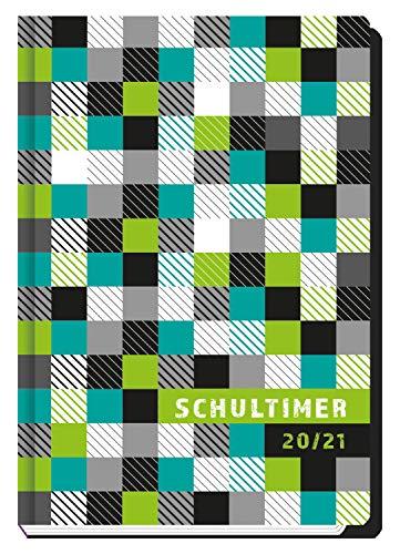 Trötsch Schülerkalender Für Schlaue Quadrat 2020/2021: Schulplaner Hausaufgabeheft Timer Terminkalender