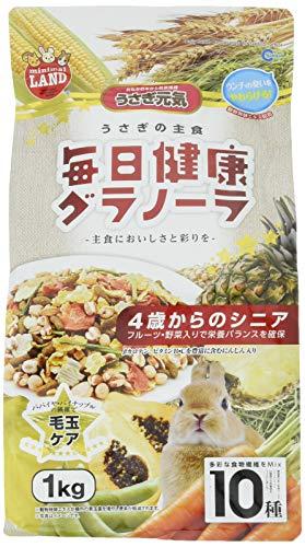 マルカン うさぎの主食 毎日健康グラノーラ 4歳からのシニア 1kg