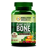 Himalayan Organics Plant Based Bone Strength Supplement | Calcium, Magnesium & Zinc | 60 Veg Capsules omega 3 for dogs Mar, 2021