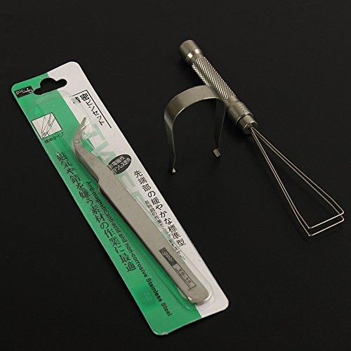 Top Werkzeug zum Entfernen Schalter Dropper Lockvogel Tastenkappe Abzieher 3in 1