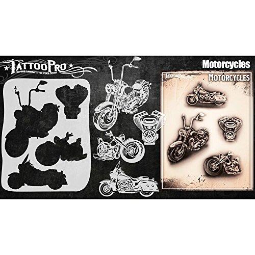 Tattoo Pro Stencils Tattoo pro Schablone Motorräder