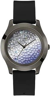 Guess Reloj analógico para mujer con correa de silicona.