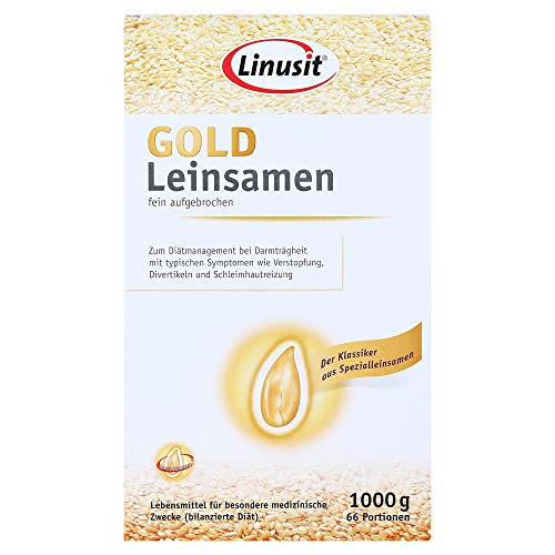 Linusit GOLD Leinsamen, 1000 g