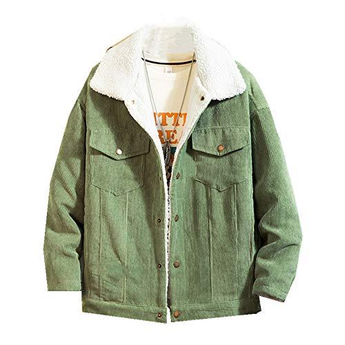 Algodón acolchado de los hombres de invierno engrosado ropa de trabajo ropa de algodón de la juventud suelto abrigo grande corto de algodón acolchado chaqueta