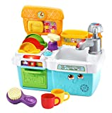 LeapFrog Scrub & Play Toy Sink Toy, Play Kitchen Accessories for Pretend Play