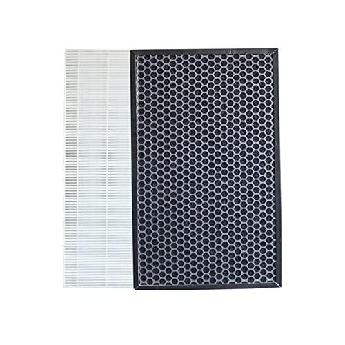 SONGHUA 11 Ajuste para el Filtro de purificador de Aire de Samsung AC-347 / AC-405 / AX034 / AX40J Filtros CFX-2HPA (Color : White Black) 🔥
