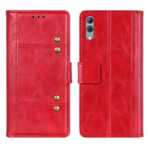 MOONCASE Xiaomi Black Shark 2 Hülle, Tasche PU Ledertasche Brieftasche mit Kartenfach Magnetverschluss Handyhülle Smartphone Schutzhülle für Xiaomi Black Shark 2 6.39